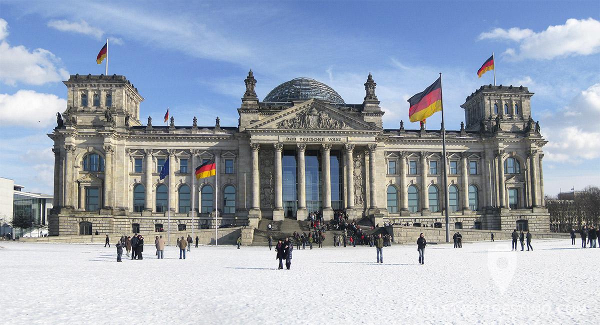 Edificio del Reichstag (Parlamento Alemán) Berlín