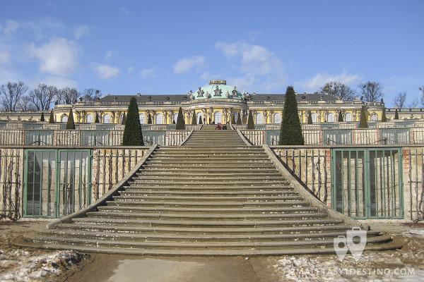Escaleras del Palacio de Sanssouci (Schloss Sanssouci)