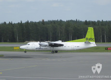 Fokker F50 (YL-BAT) Air Baltic