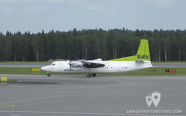 Fokker F50 (YL-BAT) Air Baltic