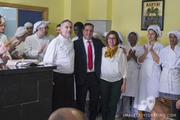 I Jornadas del Queso de Cabrales - Jaime, Juan y María Jesús