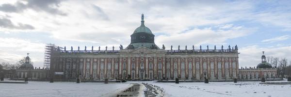 Neues Palais - Parque de Sanssouci Postdam