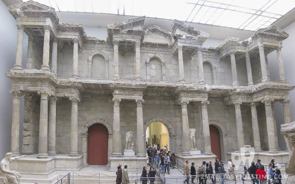 Puerta del Mercado de Mileto - Museo Pérgamo Berlín