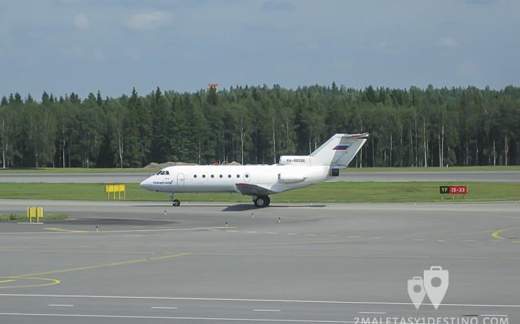 Yakovlev Yak-40 (RA-88296) Severstal Air Company