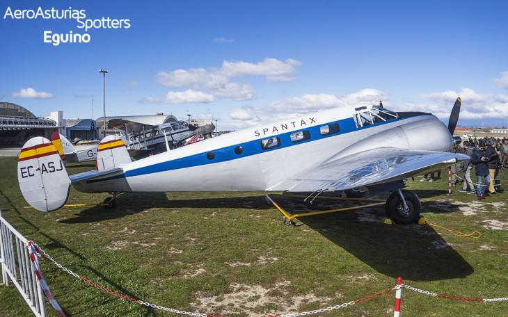 Beechcraft C-45H (EC-ASJ) Spantax