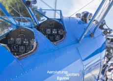 Cuadro de mandos del Boeing Stearman 75 Kaydet
