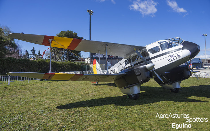 De Havilland 89 - Dragon Rapide (G-AEML) Iberia