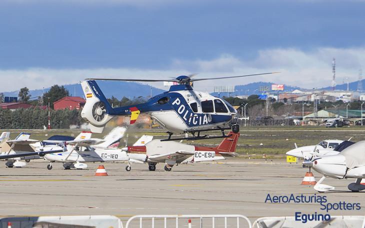 """Eurocopter EC-135 P2+ (EC-KAQ) Policía Nacional """"Ángel 23"""""""