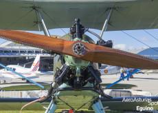 Hélice y motor del Polikarpov Po-2 (1928)