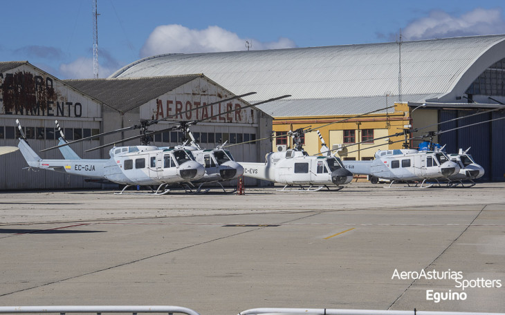 Helicópteros Bell Iroquois UH-1B, UH-1D y UH-1H