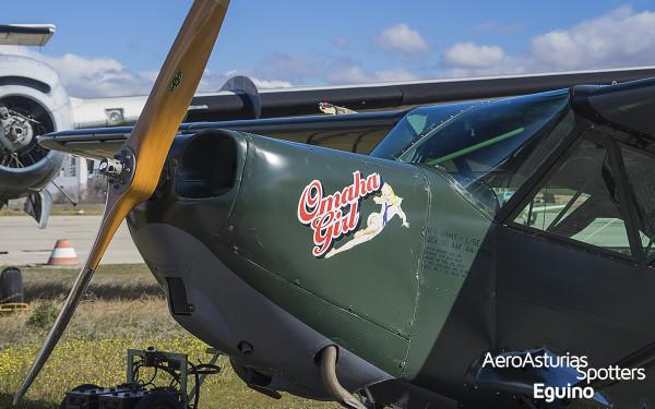 Omaha Girl - Stinson L-5 Sentinel