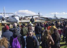 Público en la exhibición aérea de la Fundación Infante de Orleans