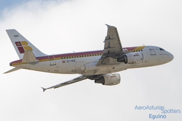 Airbus A319-111 (EC-HGR) Iberia