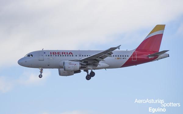 Airbus A319-111 (EC-MFO) Iberia