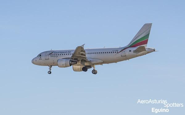 Airbus A319-112 (LZ-FBB) Bulgaria Air