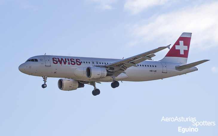 Airbus A320-214 (HB-IJE) Swiss International Air Lines