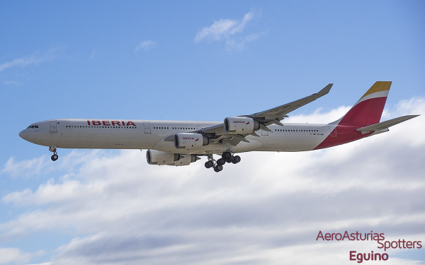 Airbus A340-642 (EC-INO) Iberia