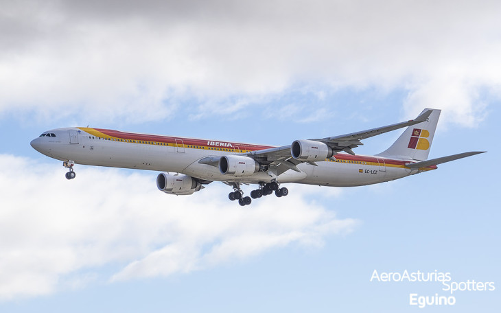 Airbus A340-642 (EC-LCZ) Iberia