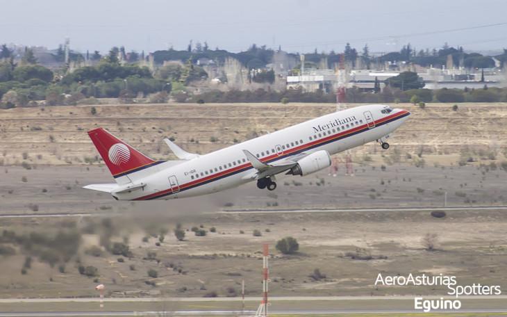 Boeing 737-36N (EI-IGR) Meridiana