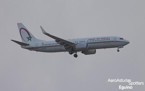 Boeing 737-8B6 (CN-ROL) Royal Air Maroc