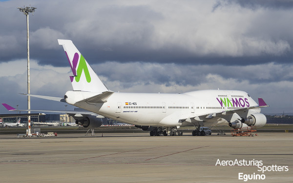 Boeing 747-419 (EC-MDS) Wamos Air