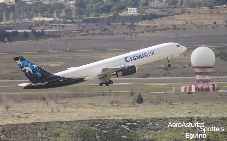 Boeing 757-256F (EC-FTR) Cygnus Air