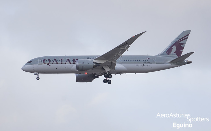 Boeing 787-8 (A7-BCU) Qatar Airways