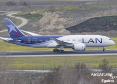 Boeing 787-8 (CC-BBH) LAN Airlines