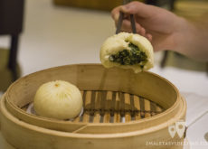 Buns vegetales en Ding Tai Fung