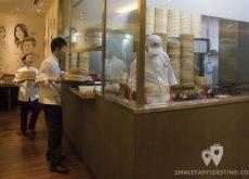 Camareros y cocina del Ding Tai Fung