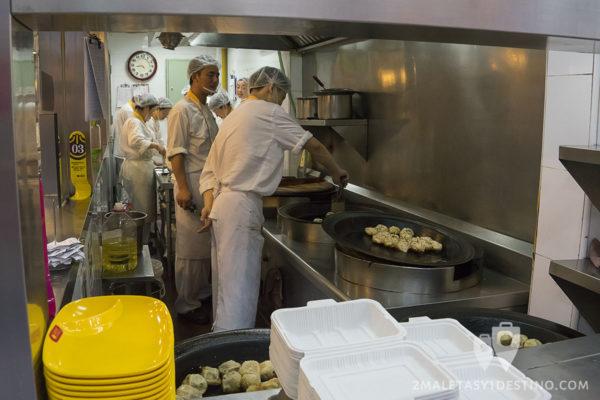 Cocineros de Yang's Dumpling