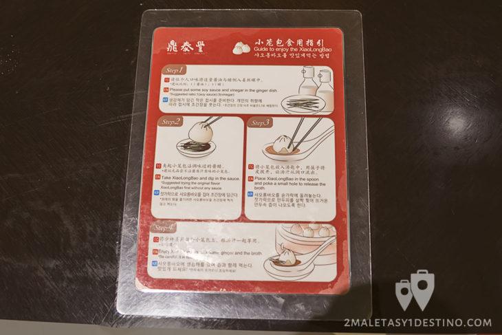 Cómo comer un XiaoLongBao