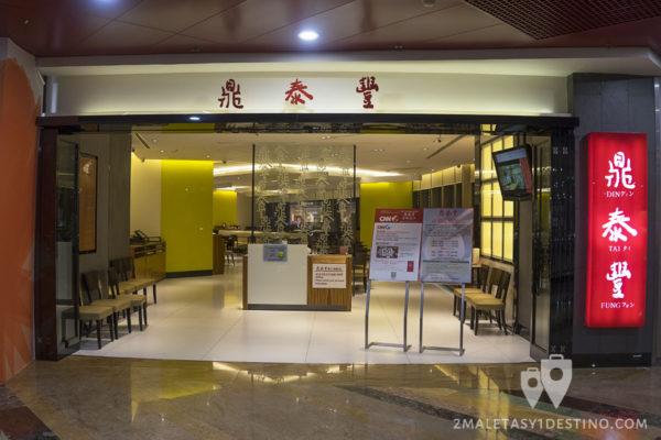 Entrada del restaurante Ding Tai Fung
