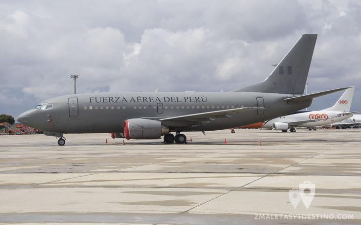 Boeing 737-200-AD Fuerza Aérea de Perú