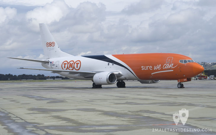 Boeing 737-4Q8 (OE-IBW) TNT Airways