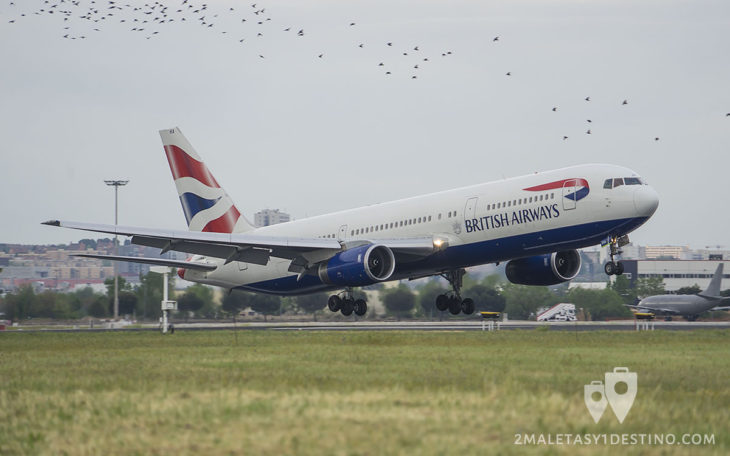 Boeing 767-336ER (G-BZHA) British Airways