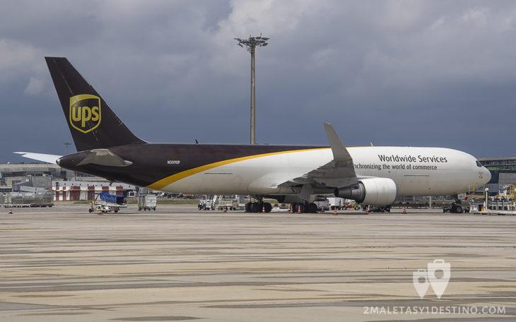 Boeing 767-34AF (N309UP) UPS Airlines