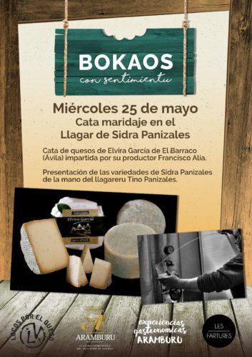 Bokaos con Sentimientu - Llagar sidra panizales y Quesos Elvira García