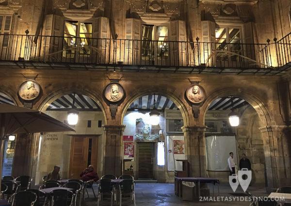 Café Mesón Cervantes en Salamanca