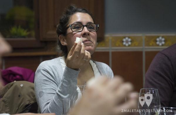 Quesos Elvira García - Catando queso Olalla