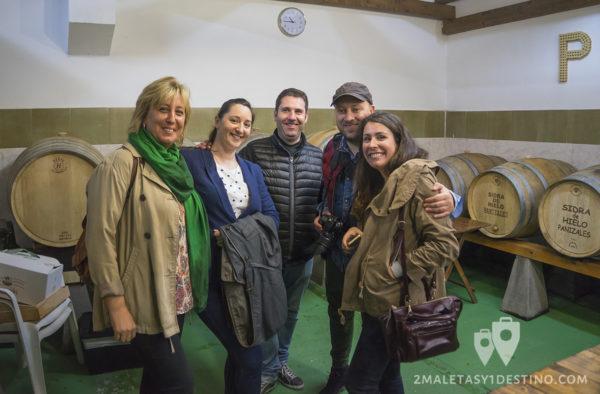 Sidra Panizales - Amigos bloggers y Aramburu