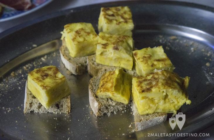 Sidra Panizales - Pincho de tortilla de patata de la güela