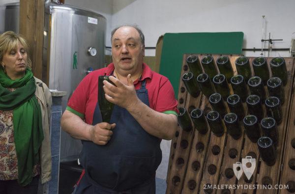 Sidra Panizales - Sidra brut método champenoise 2