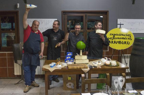 Sidra Panizales y Quesos Elvira García con Bokaos con sentimiento 2