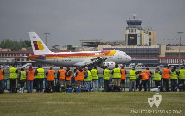 VII Spotters Day en el Aeropuerto de Madrid-Barajas