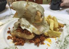 Gran Hotel Rural Cela - Gastro - Hojaldre picadilo, huevo y cabrales