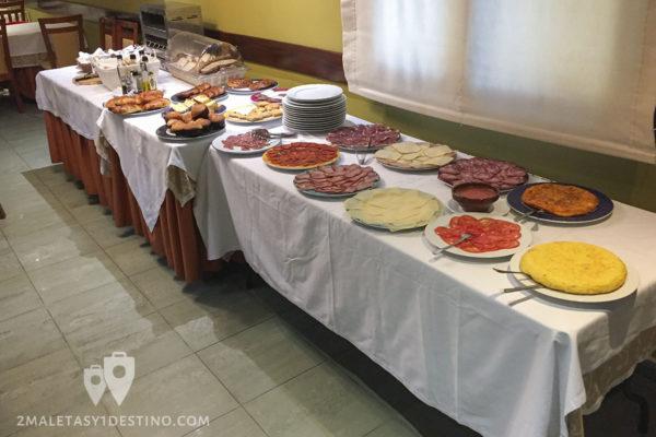 Gran Hotel Rural Cela - Gastro - desayuno buffet