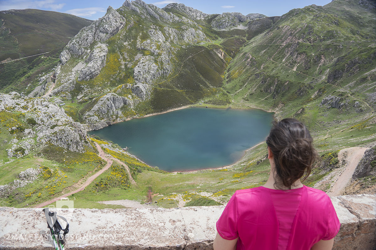 Lagos de Saliencia - Somiedo - Lago La Cueva Vanina