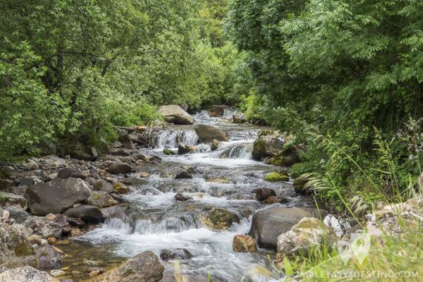 Ruta Braña La Pornacal - Somiedo - Río Pigüeña
