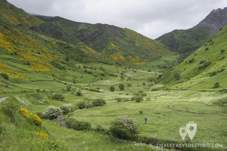 Ruta Braña La Pornacal - Somiedo - Valle